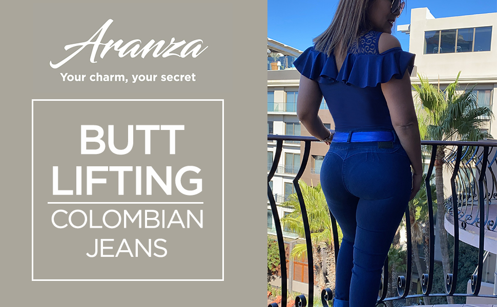 Aranza Pantalones Colombianos Levanta Cola Butt Lifting Colombian Jeans At Amazon Women S Jeans Store