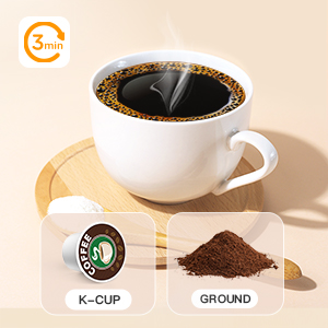 coffee machine reusable capsule coffee machine single cup with reusable single serve coffee maker