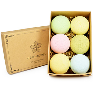 Bathbombs for her birthday gift