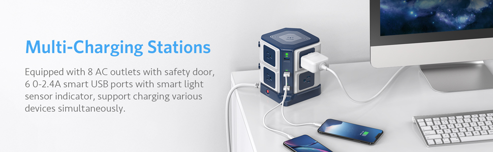 usb charging stations