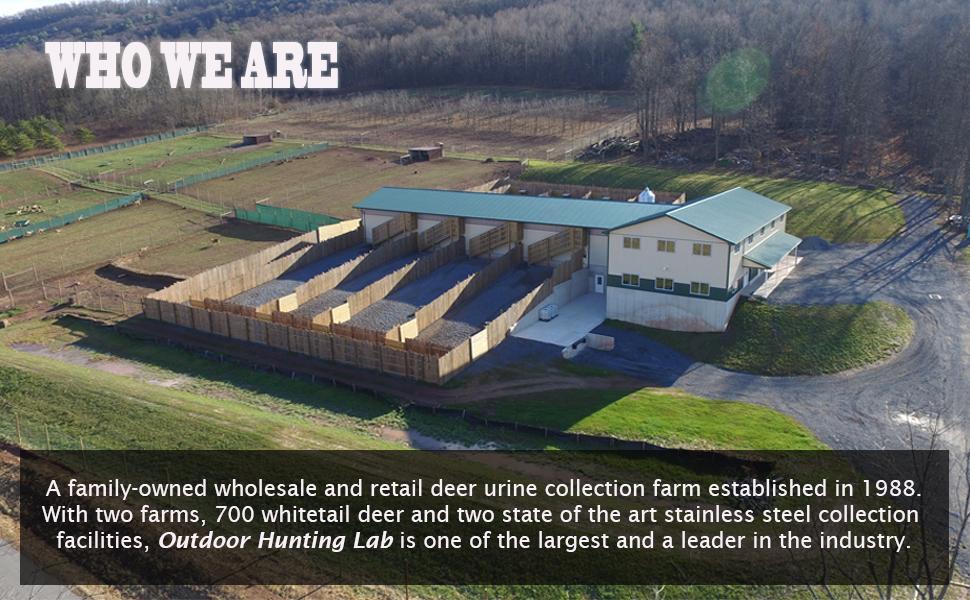 Outdoor Hunting Lab Farm