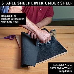 Shelf Liner Hook Loop Fabric