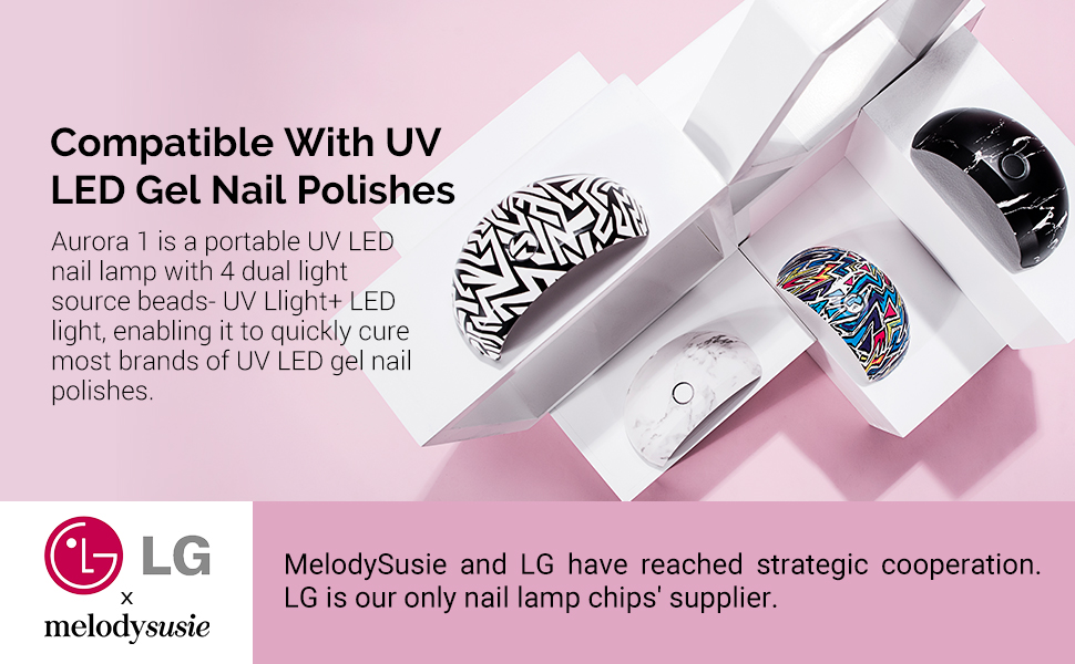 6W UV LED nail lamp