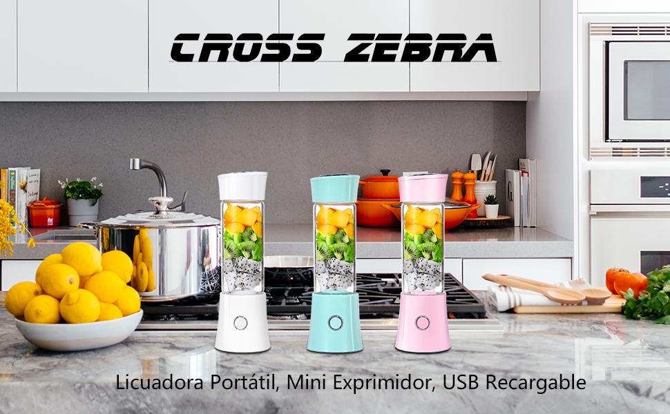 Exprimidor Eléctrico Zumo Portátil, Extractor de Jugos para Frutas ...