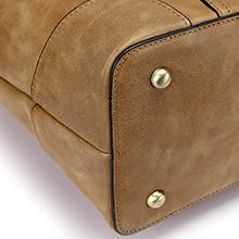 womens leather shoulder bag 15.6 inch computer tote purse ladies crossbody handbag schoo