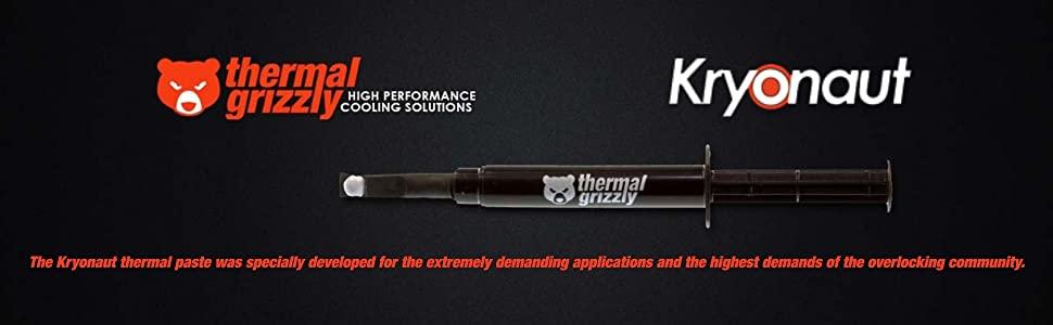 Thermische Grizzly Kryonaut De Hoogste Kwaliteit Thermische Pasta Voor Het Koelen Van Alle Processoren Grafische Kaarten En Koellichamen In Computers En Consoles 1 Gramm Amazon Nl