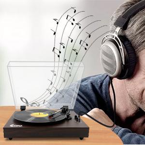 Portable LP Vinyl Player