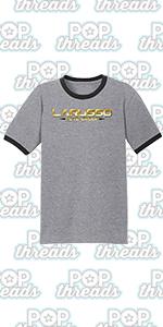 Cobra Kai Karate Kid Merchandise Retro No Mercy Graphic Tee Ringer T-Shirt