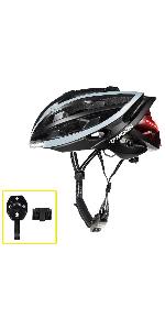 bicycle helmet with light