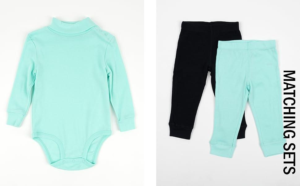 leveret, baby bodysuits, baby leggings, baby basics,