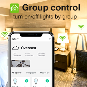 Group control lights
