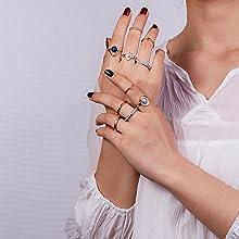 retro rings finger ring for women