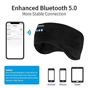 sleeping headphones bluetooth