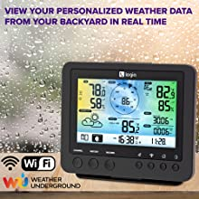 Logia weather station console