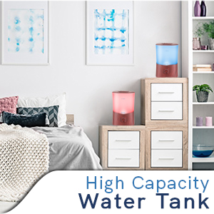 essential oil diffuser comes in a 3000 mL easy-clean tank
