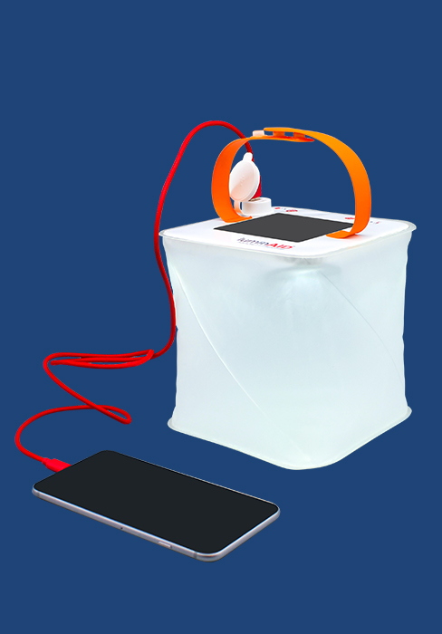 LuminAID Max 2-in-1 Phone Charger