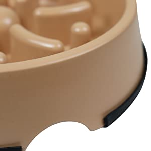 dog food bowl for slowing down eating anti gulp choke