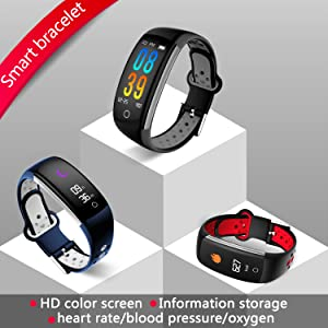 pedometer watch blood oxygen monitor calories distance