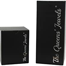 Safe and Secure packaging for every jeweled wine glass in a special branded gift box