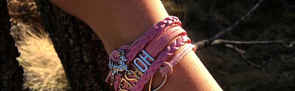 BAE Icons Gifts for Girls horses charm bracelets