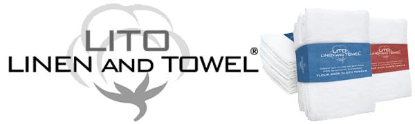 Lito, Linen and Towel, flour sack cloth towel,