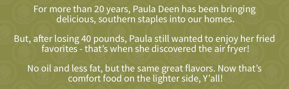 Paula Deen - Why Air Fry