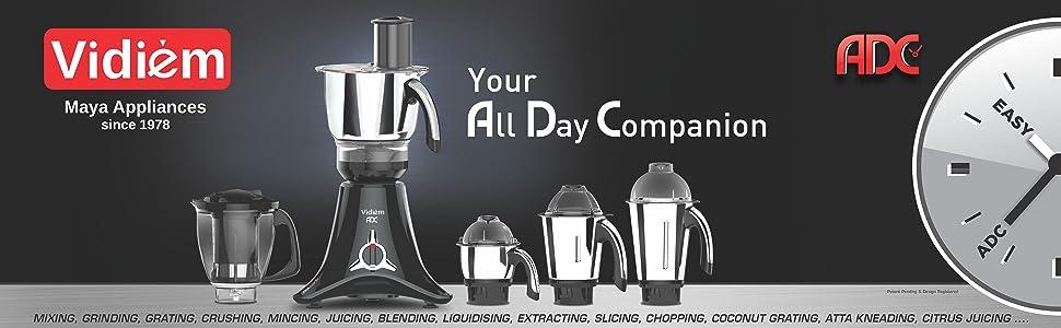vstar, vidiem, mixer grinder,ADC