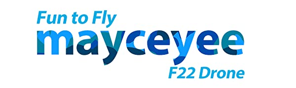 Mayceyee F22 Drone for Kids and Beginner_Blue_0
