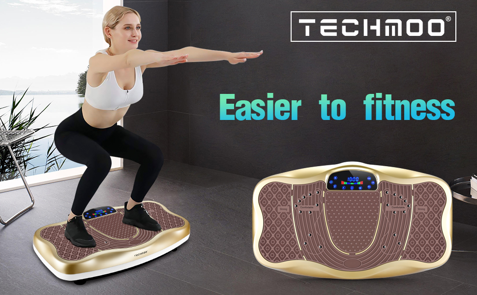 Fitness Vibration Power Plate Platform