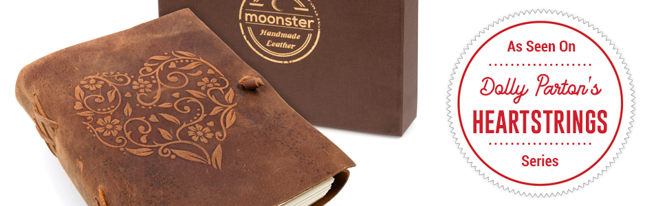 leather journals by moonster