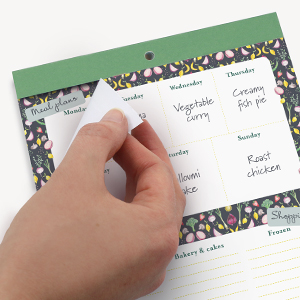 Shopping list pads Meal planner board Shopping List Magnetic shopping list pad for fridge