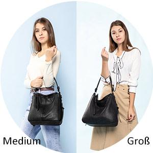 handtasche damen schwarz groß handtasche damen gross schwarz tasche mit vielen fächern damen