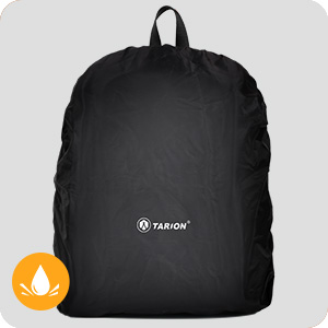 camera backpack with waterproof raincover