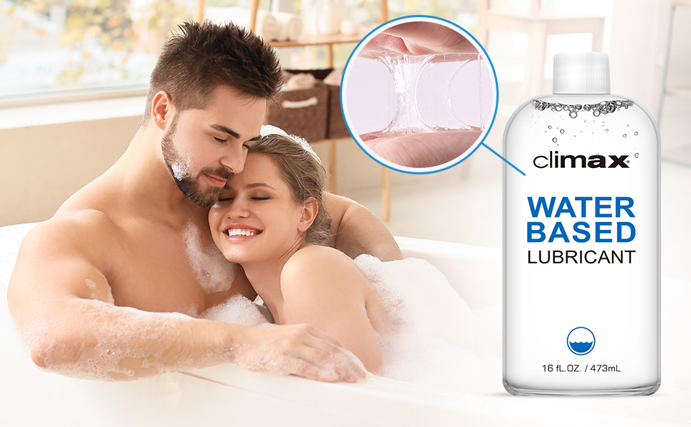Climax water-based lube