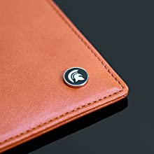 Orange Slim Wallet