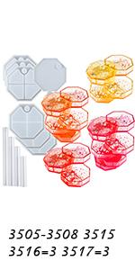 Octagon Multi-layer Storage Box Molds