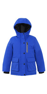 Boys Insulated Parka Thicken Padded Winter Coat