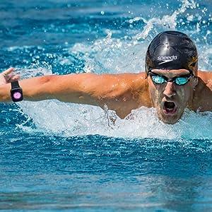 Mcnnadi Smart Watch Fitness Tracker Health Monitor - Swimming