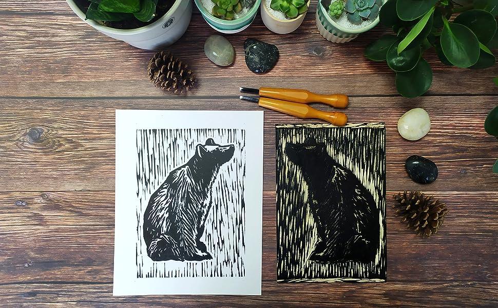 Unframed Black Bear Art Prints