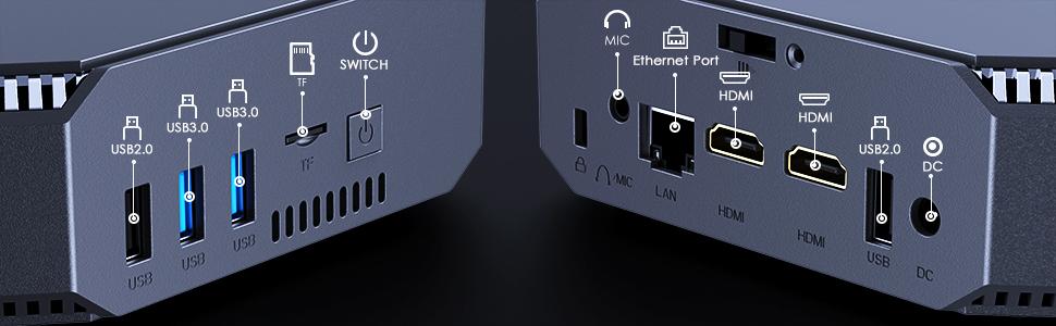 mini pc ports