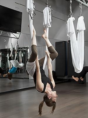inversion therapy aerial yoga hammock installation rigging hardware guide
