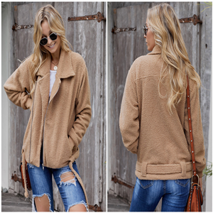 Open front coat for women