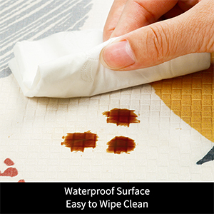 Waterproof kitchen mat heavy duty anti fatigue kitchen mat wipe clean