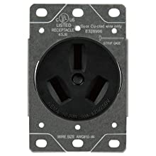 Sintron NEMA 10-50R Straight Blade Female Receptacle