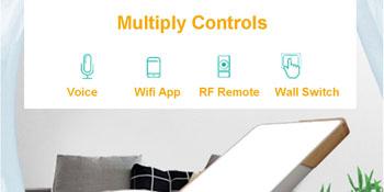 Smart wifi fan control