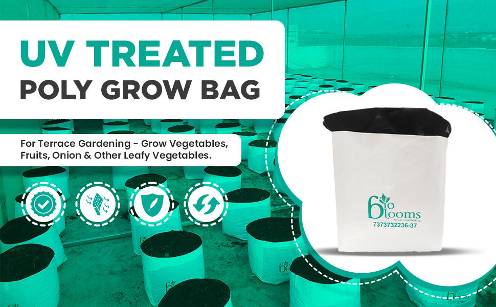SPN-BNB85C Bio Blooms poly grow bag