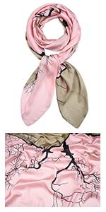 Corciova Long Silk Scarf
