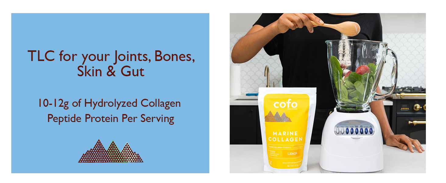 Marine Collagen, Fish Collagen, Cofo Provisions, Joint Support, Collagen for Women