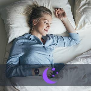 sleep monitor light sleep awake deep sleep smart watch fitness tracker