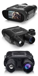 night vision IR binoculars